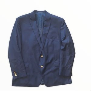 Lauren Ralph Lauren Men Suit Jacket Blue Size 50L